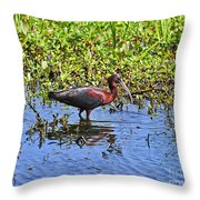 Gorgeous Glossy Throw Pillow