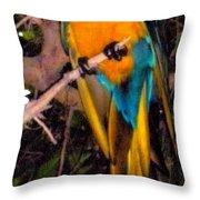 Gorgeous Golden Throw Pillow