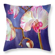 Gorgeous Orchid Throw Pillow