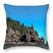 Gorgeous Rock Formations Throw Pillow