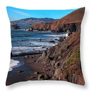 Gorgeous Sonoma Coast Throw Pillow