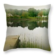 Gorham's Pond Throw Pillow