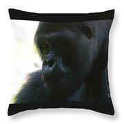 Gorilla-10 Throw Pillow