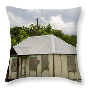 Goring Ave Cottage Throw Pillow