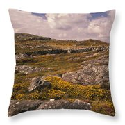 Gorse And Heather Throw Pillow
