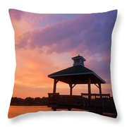 Gorton Pond Beauty Warwick Rhode Island Throw Pillow