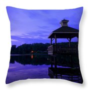 Gorton Pond Rhode Island Throw Pillow