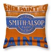 Goshen Paint Company Throw Pillow