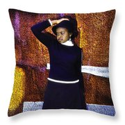 Gospel Artiste Throw Pillow