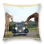 Got Grey Poupon Throw Pillow