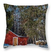 Got Wood Throw Pillow