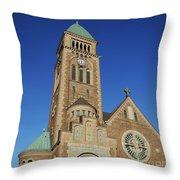 Gothenburg Church 07 Throw Pillow