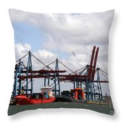 Gothenburg Harbour 07 Throw Pillow