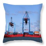 Gothenburg Harbour 09 Throw Pillow
