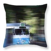 Gothenburg Tram 05 Throw Pillow