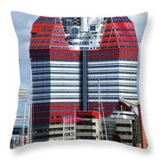 Gothenburg Utkiken Tower 06 Throw Pillow