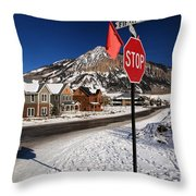 Gothic And Fifth Throw Pillow
