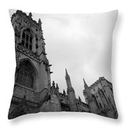 Gothic Appearance Throw Pillow