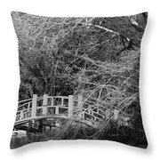 Gothic Bog Walk Throw Pillow