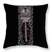 Gothic Celtic Impermanence Throw Pillow