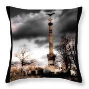 Gothic Clouds Throw Pillow