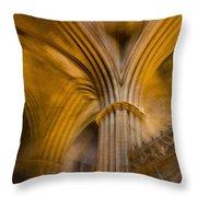 Gothic Impression Throw Pillow