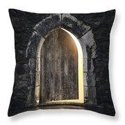 Gothic Light Throw Pillow by Carlos Caetano