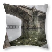 Gothic Morning Throw Pillow