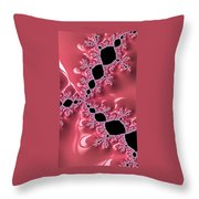 Gothic Pink Throw Pillow