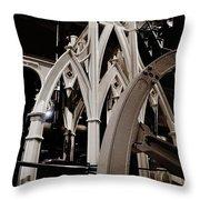 Gothic Power Throw Pillow