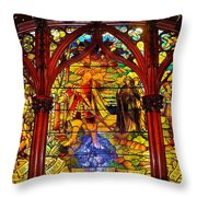 Gothic Room Throw Pillow