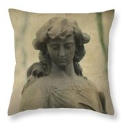 Gothic Stone Throw Pillow