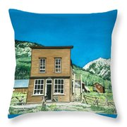 Gothic Town Hall  Throw Pillow