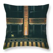 Goudas Italian Deli Color Throw Pillow