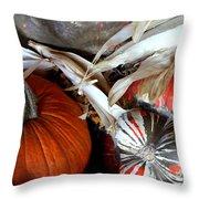 Gourd Geous George Throw Pillow