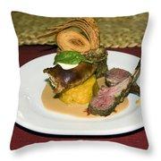 Gourmet Dinner Throw Pillow