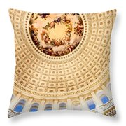 Government Arts Throw Pillow