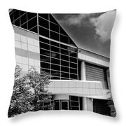 Government Entrance Throw Pillow