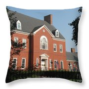 Governor House Annapolis Throw Pillow