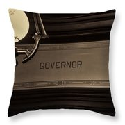 Governor Office Throw Pillow