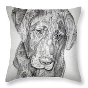 Gozar Throw Pillow
