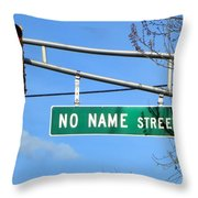 Gps Challenged Throw Pillow