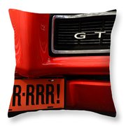 Gr-rrr Gto Throw Pillow
