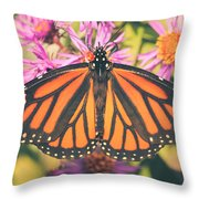 Grace And Beauty Throw Pillow