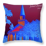 Grace And Truth Throw Pillow