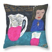 Grace Before Meals Throw Pillow