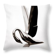 Grace In Chrome 2 Throw Pillow