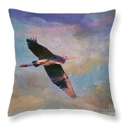 Grace Of The Wild Throw Pillow