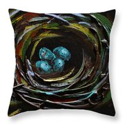 Grace Throw Pillow by Vickie Warner