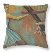 'grace Was Given' Throw Pillow
